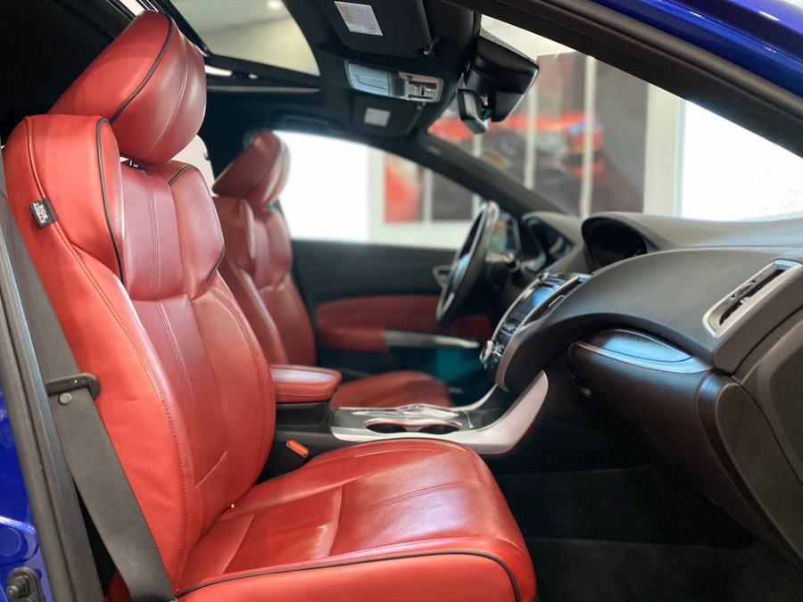 2018 Acura TLX 3.5L SH-AWD w/A-SPEC Pkg Red Leather, available for sale in Franklin Square, New York | Luxury Motor Club. Franklin Square, New York