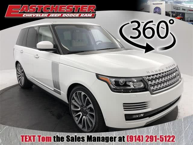 2017 Land Rover Range Rover 5.0L V8 Supercharged Autobiography, available for sale in Bronx, New York   Eastchester Motor Cars. Bronx, New York