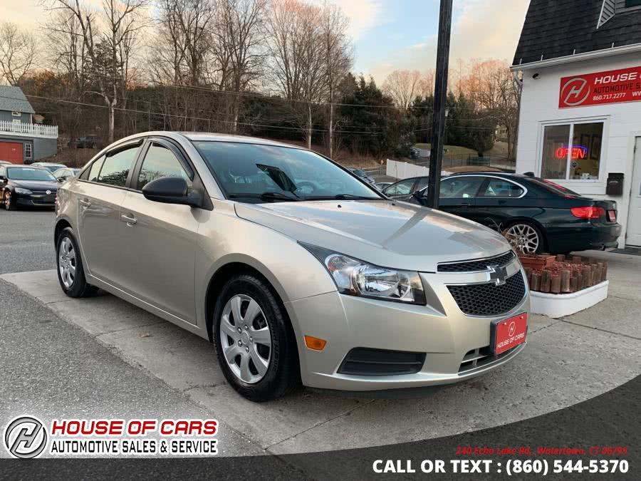 Used 2013 Chevrolet Cruze in Watertown, Connecticut | House of Cars. Watertown, Connecticut