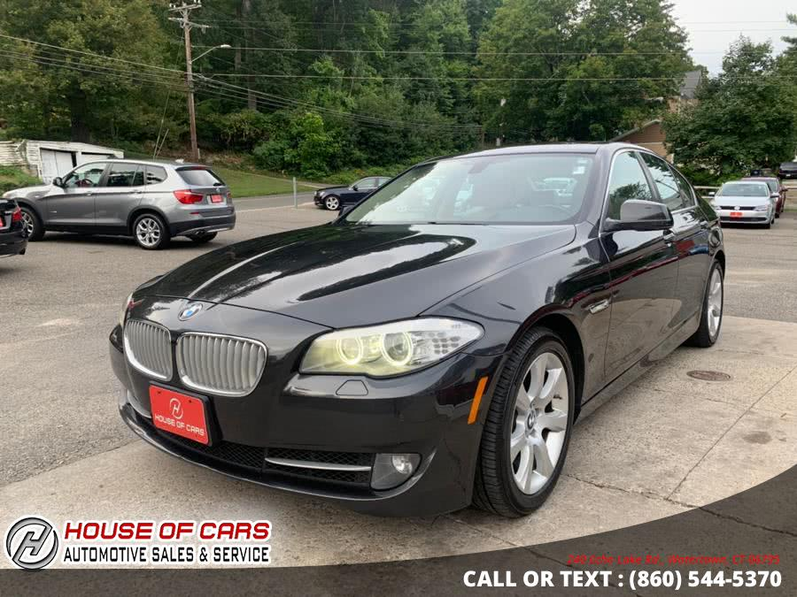 Used BMW 5 Series 4dr Sdn 550i xDrive AWD 2013 | House of Cars. Watertown, Connecticut