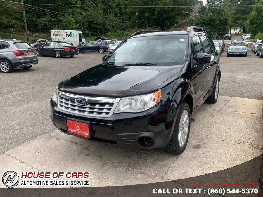 Used Subaru Forester 4dr Auto 2.5X Premium w/All-Weather Pkg 2011 | House of Cars. Watertown, Connecticut