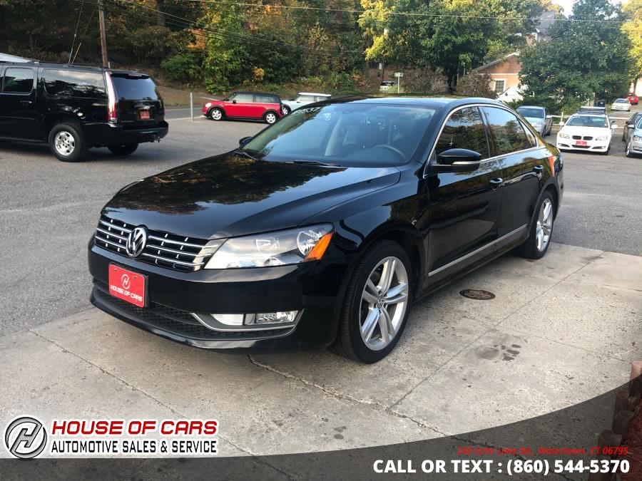 Used Volkswagen Passat 4dr Sdn 2.0L DSG TDI SEL Premium 2013 | House of Cars. Watertown, Connecticut