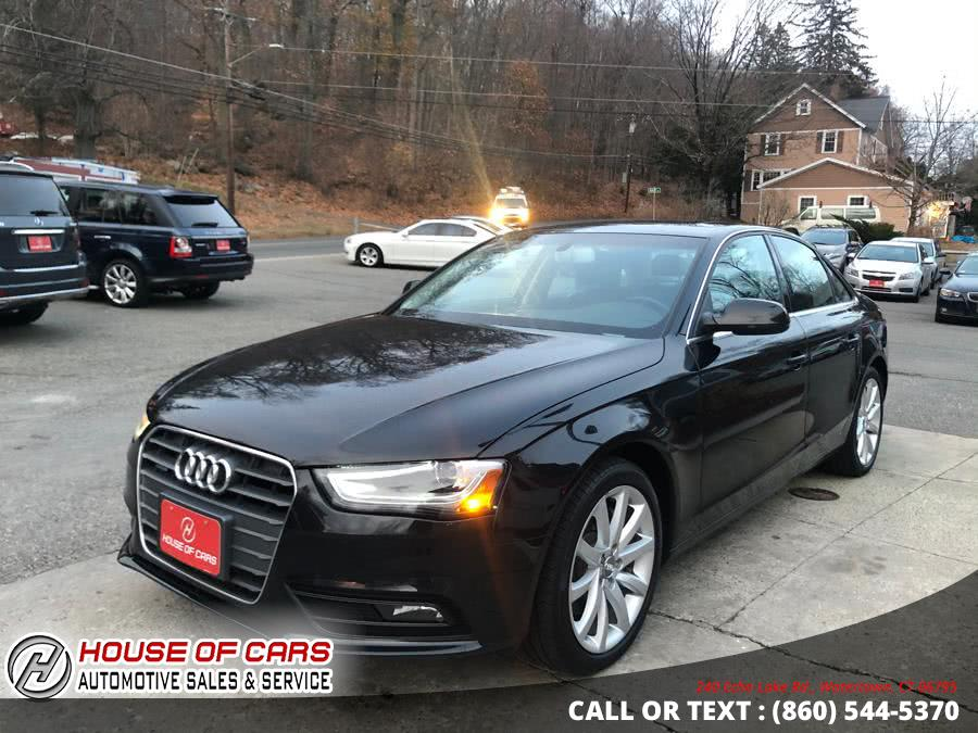 Used Audi A4 4dr Sdn Auto quattro 2.0T Premium Plus 2013 | House of Cars. Watertown, Connecticut