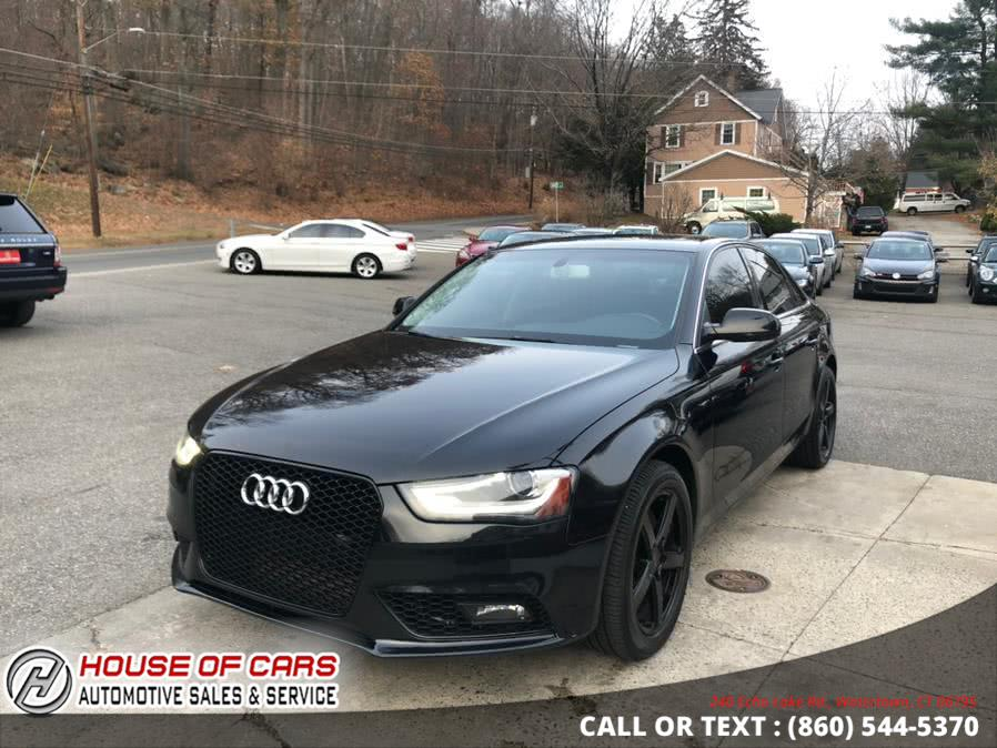 Used Audi A4 4dr Sdn Auto quattro 2.0T Premium 2013 | House of Cars. Watertown, Connecticut