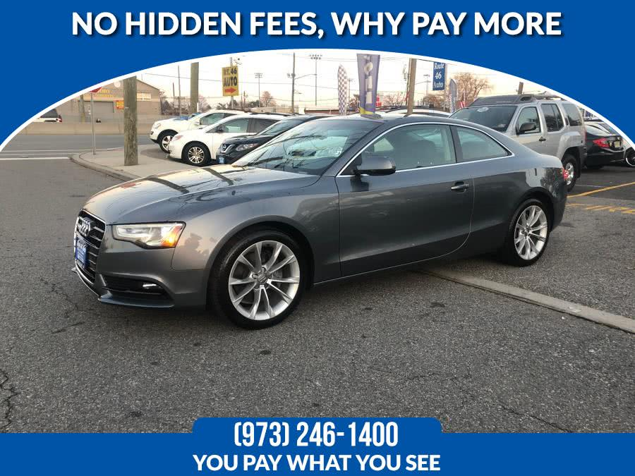 Used 2013 Audi A5 in Lodi, New Jersey | Route 46 Auto Sales Inc. Lodi, New Jersey