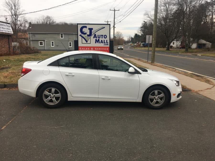 Used 2016 Chevrolet Cruze Limited in Bristol , Connecticut | CJ Auto Mall. Bristol , Connecticut