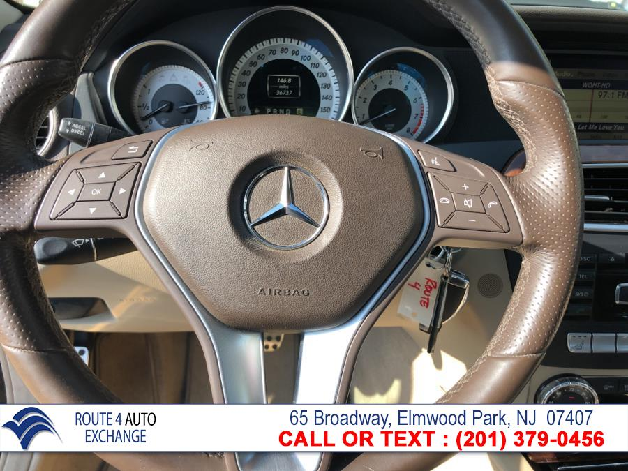 Used Mercedes-Benz C-Class 4dr Sdn C300 Luxury 4MATIC 2012 | Route 4 Auto Exchange. Elmwood Park, New Jersey