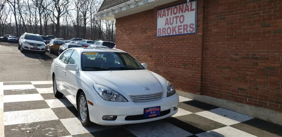 Used Lexus ES 300 4dr Sdn 2002 | National Auto Brokers, Inc.. Waterbury, Connecticut