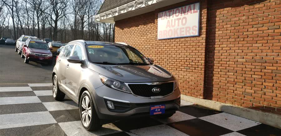 Used Kia Sportage AWD 4dr EX 2015 | National Auto Brokers, Inc.. Waterbury, Connecticut