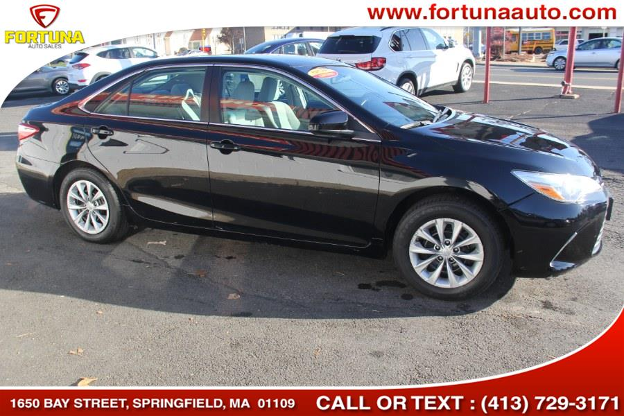 2016 Toyota Camry LE I4 Auto Natl, available for sale in Springfield, Massachusetts | Fortuna Auto Sales Inc.. Springfield, Massachusetts