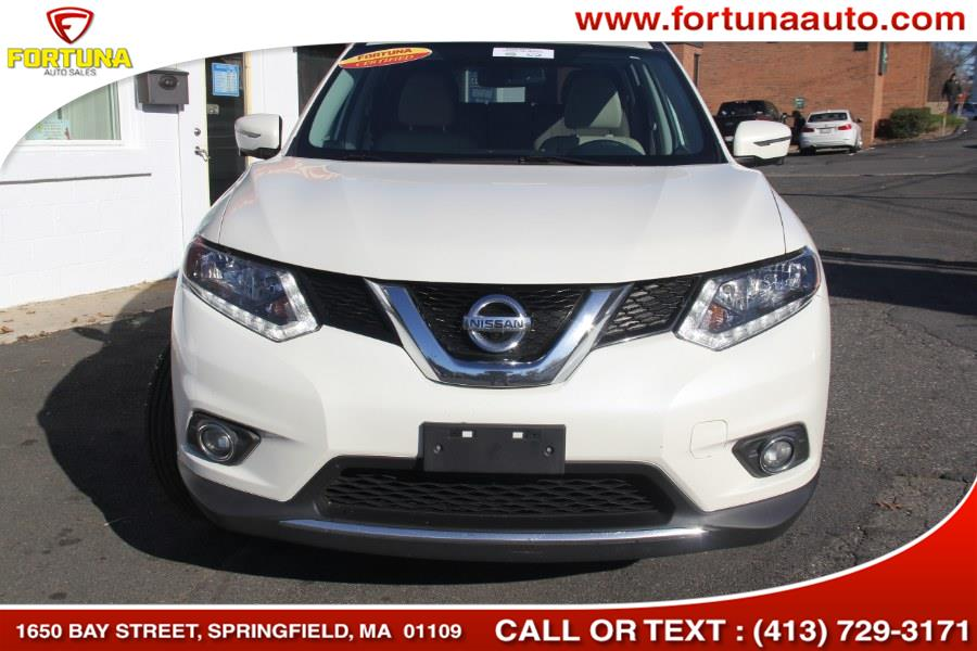 2016 Nissan Rogue AWD 4dr SL, available for sale in Springfield, Massachusetts | Fortuna Auto Sales Inc.. Springfield, Massachusetts