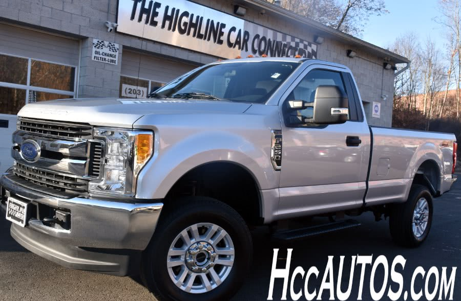 2017 Ford Super Duty F-250 SRW XLT 4WD Reg Cab 8'' Box, available for sale in Waterbury, Connecticut | Highline Car Connection. Waterbury, Connecticut
