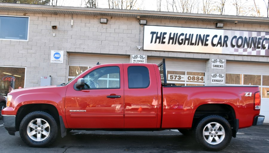 2013 GMC Sierra 1500 4WD Ext Cab  SLE, available for sale in Waterbury, Connecticut | Highline Car Connection. Waterbury, Connecticut