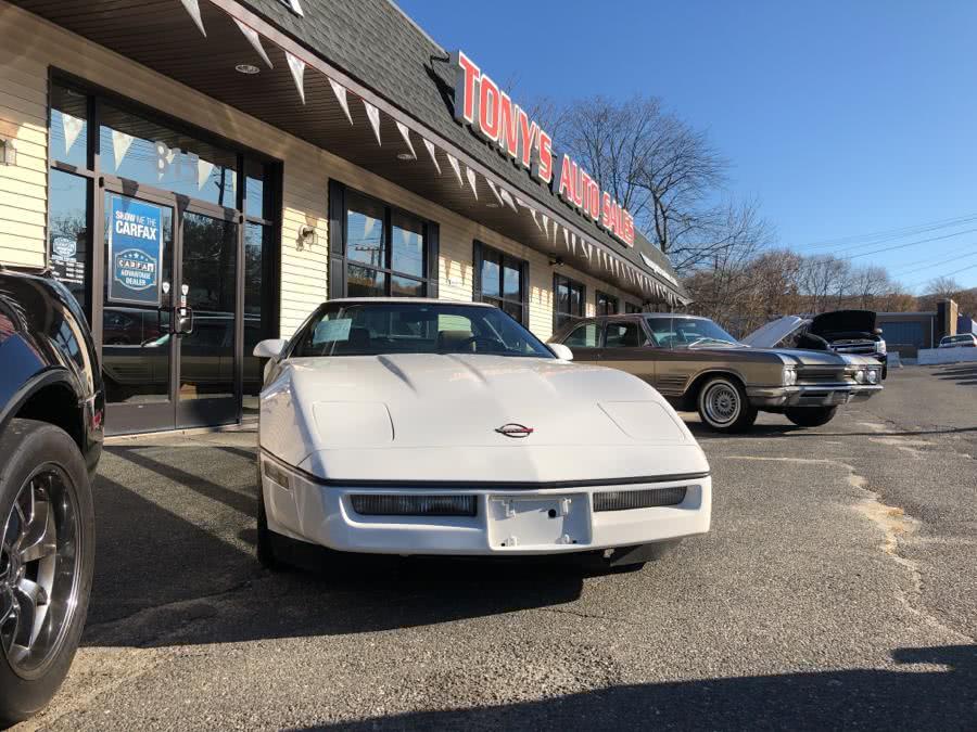 Used 1986 Chevrolet Corvette in Waterbury, Connecticut | Tony's Auto Sales. Waterbury, Connecticut