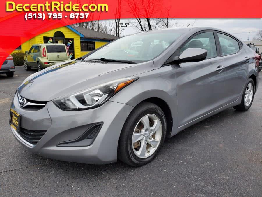 Used 2014 Hyundai Elantra in West Chester, Ohio | Decent Ride.com. West Chester, Ohio