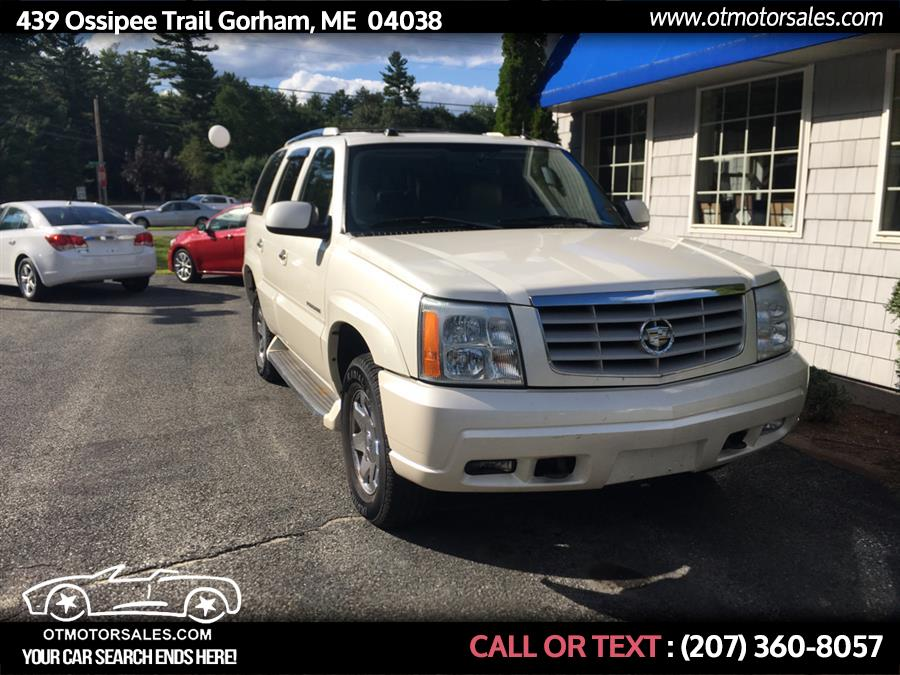 Used Cadillac Escalade 4dr AWD 2005 | Ossipee Trail Motor Sales. Gorham, Maine