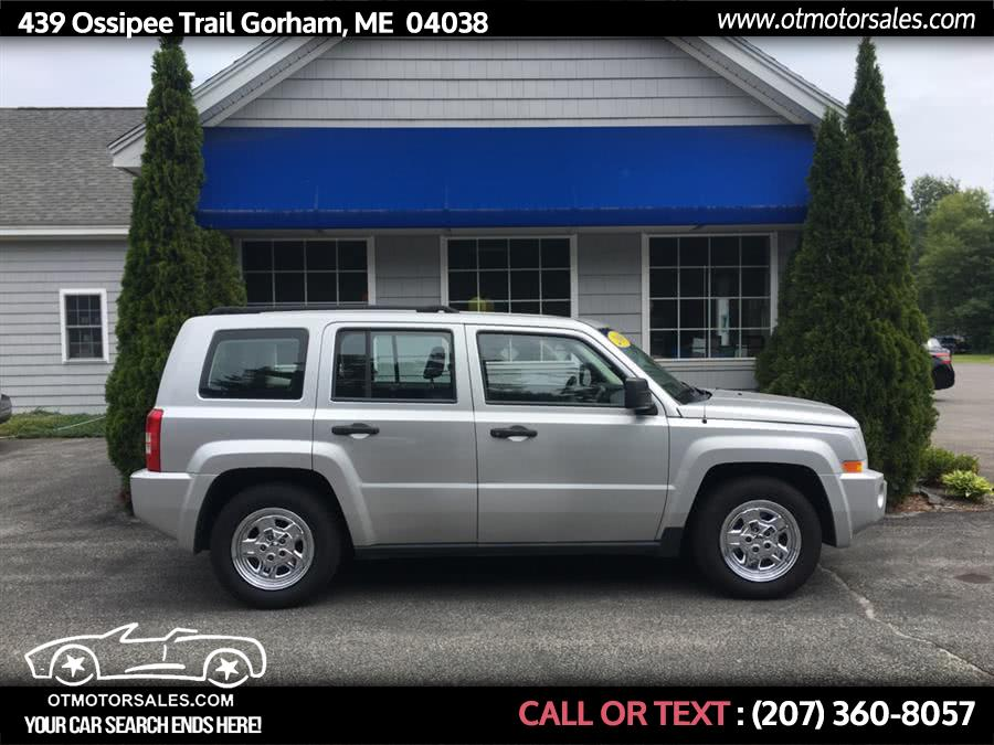 Used 2008 Jeep Patriot in Gorham, Maine | Ossipee Trail Motor Sales. Gorham, Maine
