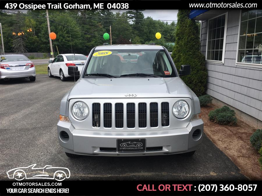 2008 Jeep Patriot 5 speed, available for sale in Gorham, Maine | Ossipee Trail Motor Sales. Gorham, Maine
