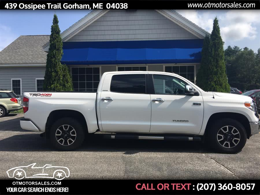 Used 2017 Toyota Tundra 4wd in Gorham, Maine | Ossipee Trail Motor Sales. Gorham, Maine