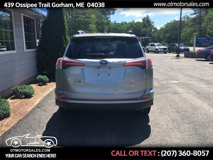 Used Toyota Rav4 AWD 4dr LE (Natl) 2016 | Ossipee Trail Motor Sales. Gorham, Maine