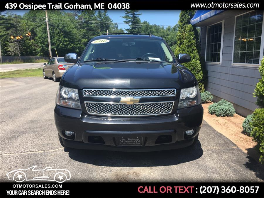 2010 Chevrolet Tahoe 4WD 4dr 1500 LTZ, available for sale in Gorham, Maine | Ossipee Trail Motor Sales. Gorham, Maine