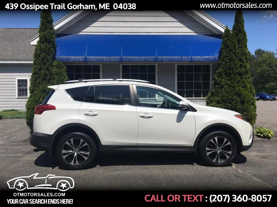 Used 2015 Toyota RAV4 in Gorham, Maine | Ossipee Trail Motor Sales. Gorham, Maine
