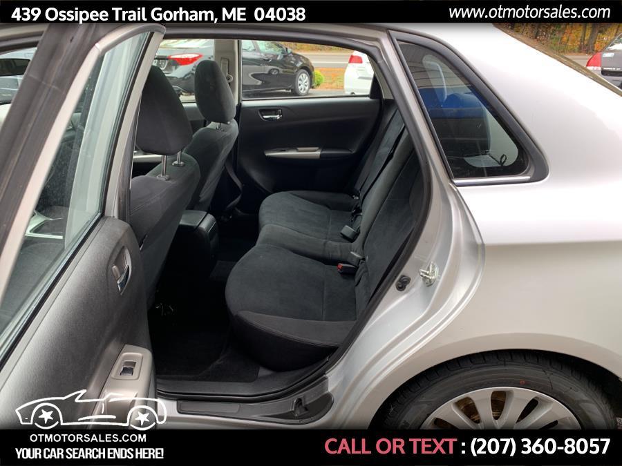 2010 Subaru Impreza Sedan base, available for sale in Gorham, Maine | Ossipee Trail Motor Sales. Gorham, Maine