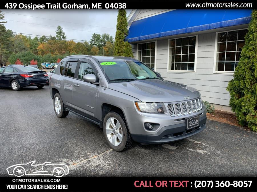 2016 Jeep Compass 4WD 4dr Latitude, available for sale in Gorham, Maine | Ossipee Trail Motor Sales. Gorham, Maine