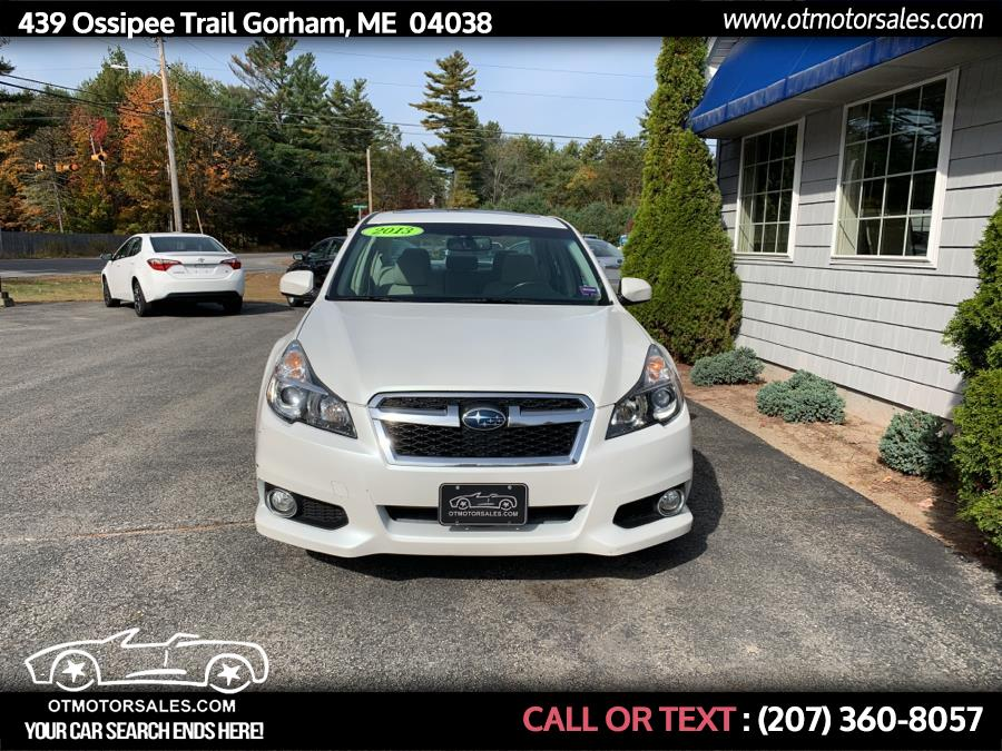 2013 Subaru Legacy 4dr Sdn H6 Auto 3.6R Limited, available for sale in Gorham, Maine   Ossipee Trail Motor Sales. Gorham, Maine