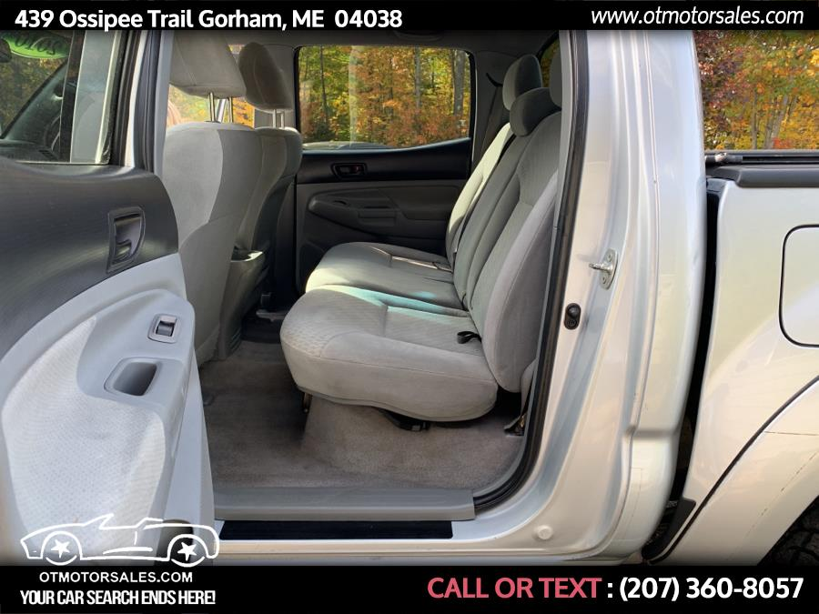 Used Toyota Tacoma 4WD Double V6 AT (Natl) 2010 | Ossipee Trail Motor Sales. Gorham, Maine