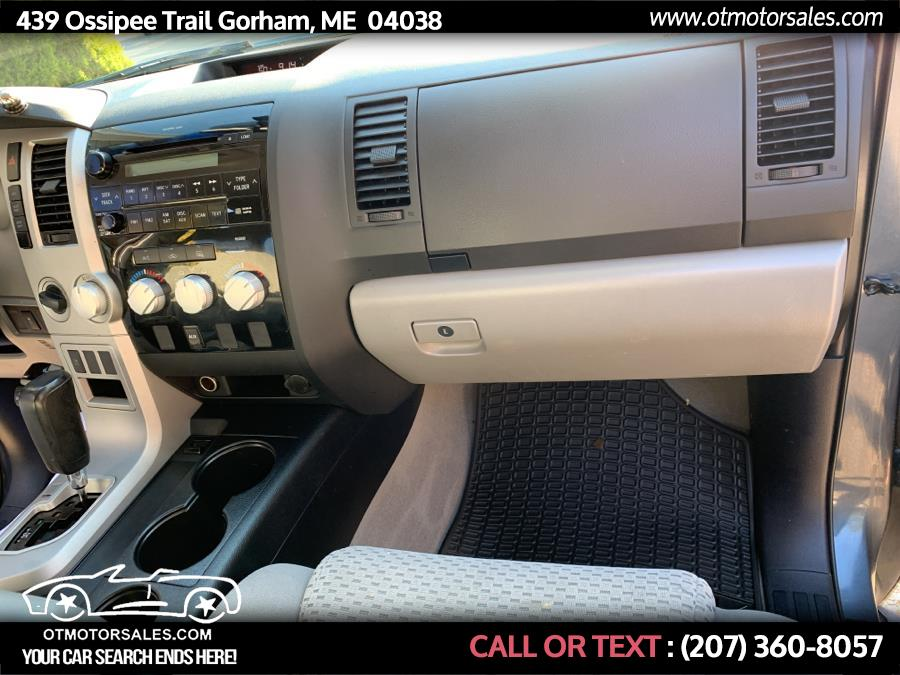 Used Toyota Tundra 4WD Truck Sr5 2008 | Ossipee Trail Motor Sales. Gorham, Maine