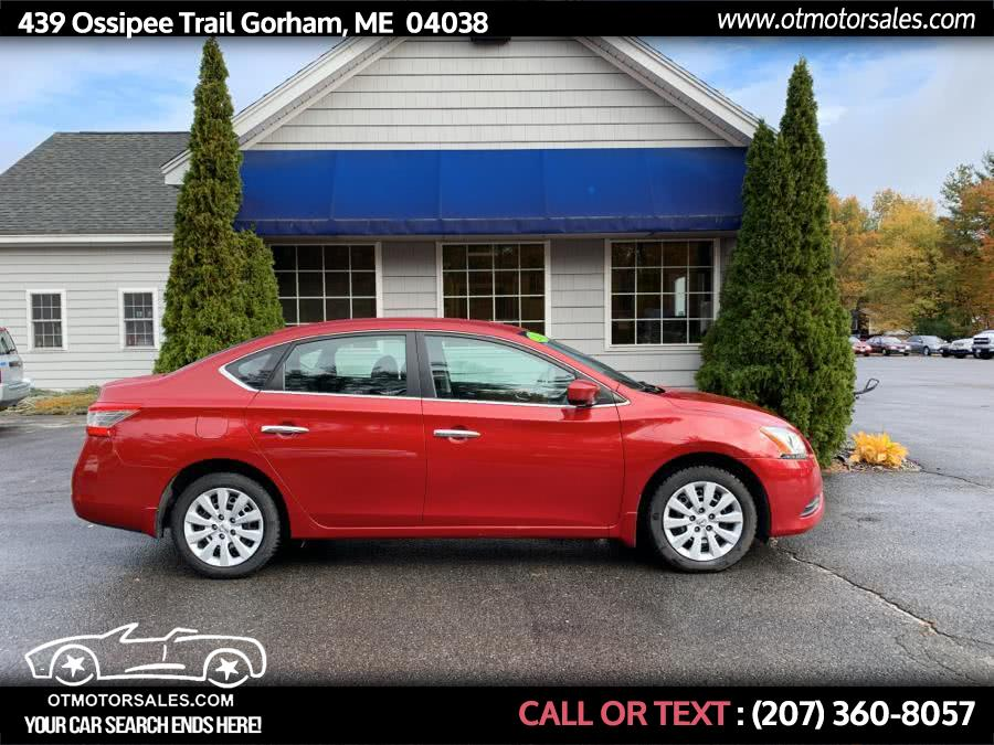 Used 2013 Nissan Sentra in Gorham, Maine | Ossipee Trail Motor Sales. Gorham, Maine