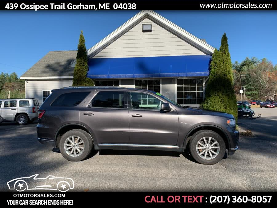 Used 2016 Dodge Durango in Gorham, Maine | Ossipee Trail Motor Sales. Gorham, Maine