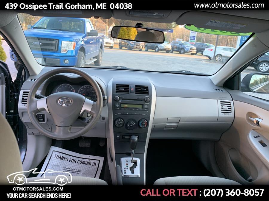 Used Toyota Corolla LE 2010 | Ossipee Trail Motor Sales. Gorham, Maine