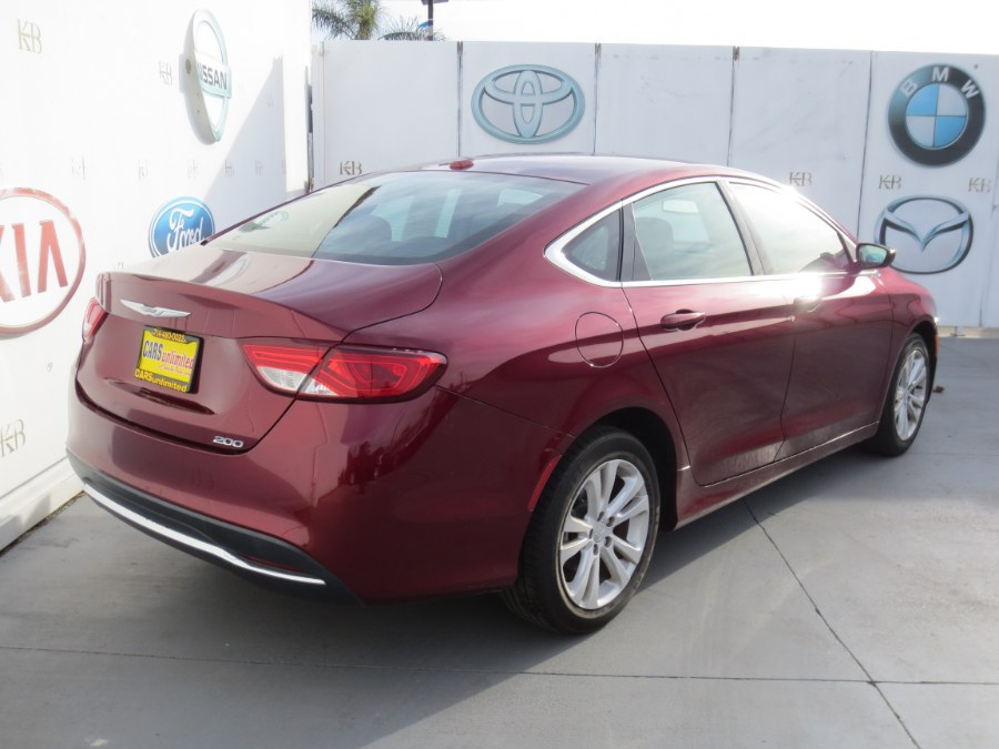 2016 Chrysler 200 4dr Sdn Limited FWD, available for sale in Santa Ana, California | Auto Max Of Santa Ana. Santa Ana, California