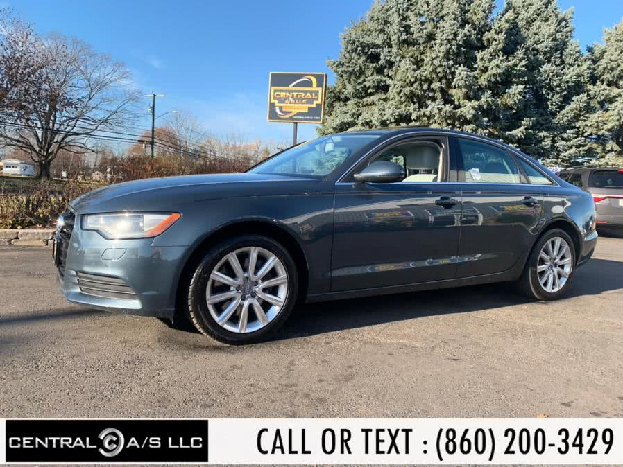 Used Audi A6 4dr Sdn quattro 2.0T Premium Plus 2014 | Central A/S LLC. East Windsor, Connecticut