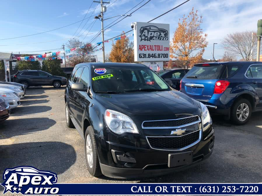 Used Chevrolet Equinox AWD 4dr LS 2015 | Apex Auto. Selden, New York