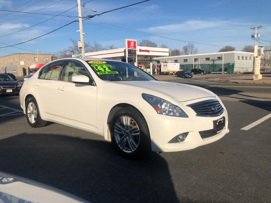 Used Infiniti G37 Sedan 4DR X AWD 2010 | Champion City Motors. Brockton, Massachusetts