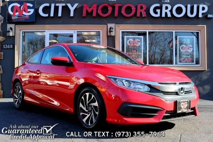 Used Honda Civic LX-P 2016 | City Motor Group Inc.. Haskell, New Jersey