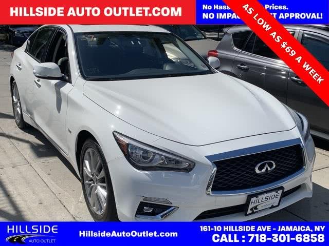 Used 2018 Infiniti Q50 in Jamaica, New York | Hillside Auto Outlet. Jamaica, New York