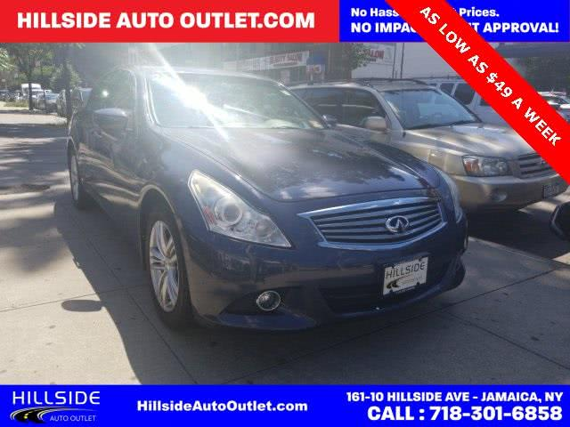 Used 2011 Infiniti G37 in Jamaica, New York | Hillside Auto Outlet. Jamaica, New York