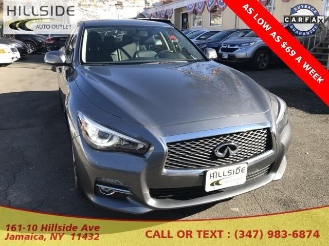 Used 2016 Infiniti Q50 in Jamaica, New York | Hillside Auto Outlet. Jamaica, New York