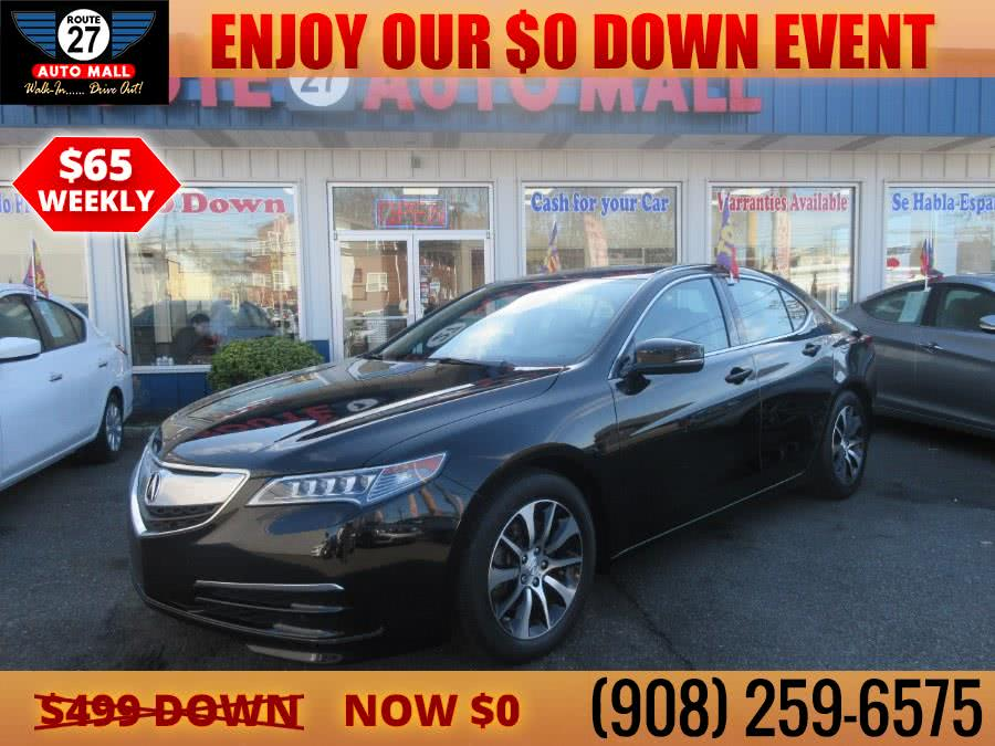 Used 2015 Acura TLX in Linden, New Jersey | Route 27 Auto Mall. Linden, New Jersey