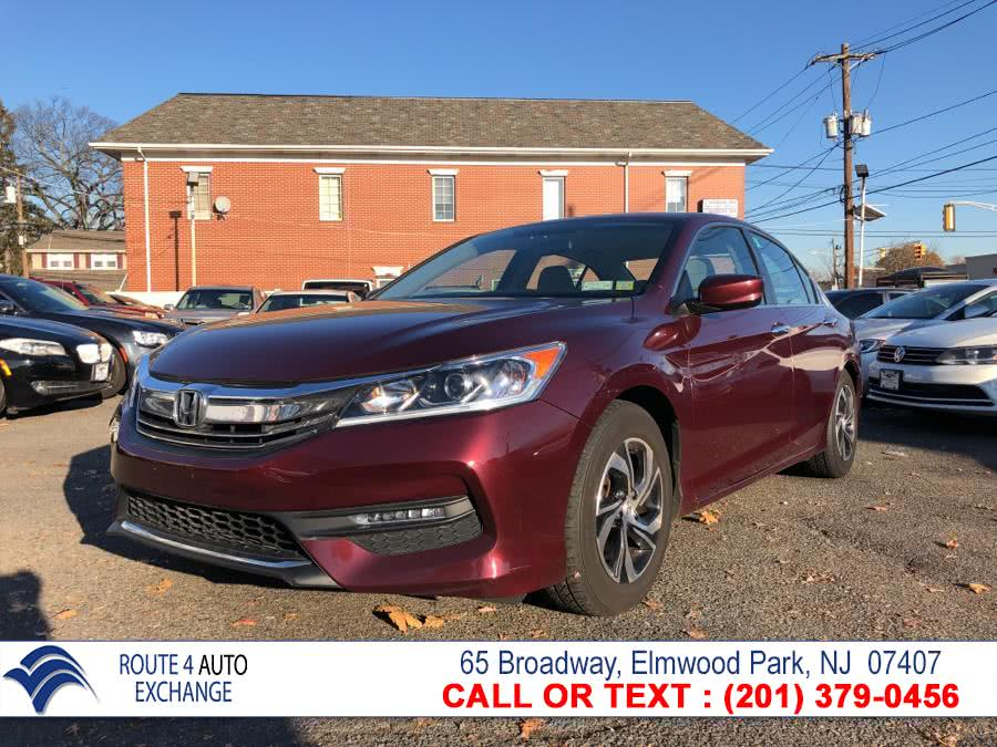 Used 2017 Honda Accord Sedan in Elmwood Park, New Jersey | Route 4 Auto Exchange. Elmwood Park, New Jersey