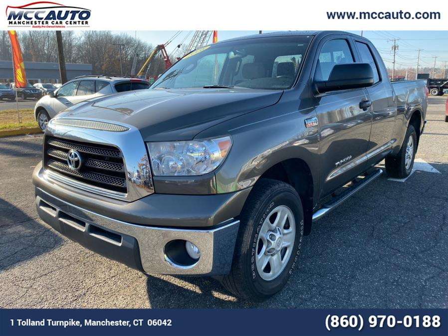 2008 Toyota Tundra 4WD Truck Dbl 5.7L V8 6-Spd AT Grade, available for sale in Manchester, Connecticut | Manchester Car Center. Manchester, Connecticut