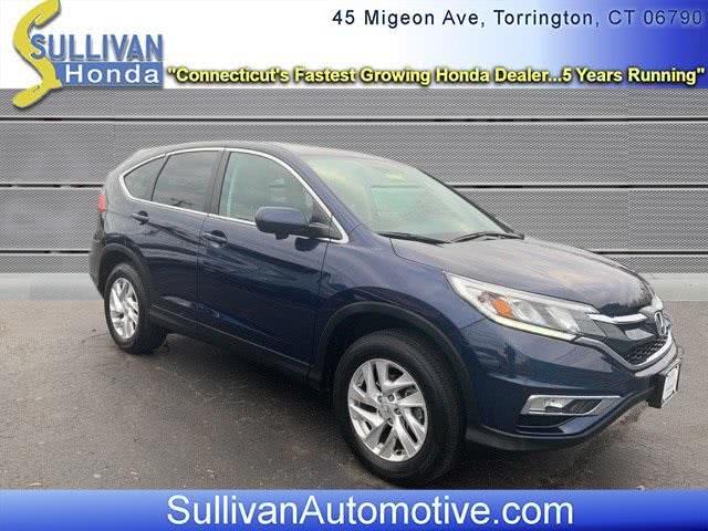 Used Honda Cr-v EX 2016   Sullivan Automotive Group. Avon, Connecticut