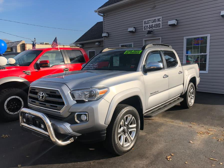 Used Toyota Tacoma 4WD Double Cab V6 AT Limited (Natl) 2016 | Select Cars Inc. Selden, New York