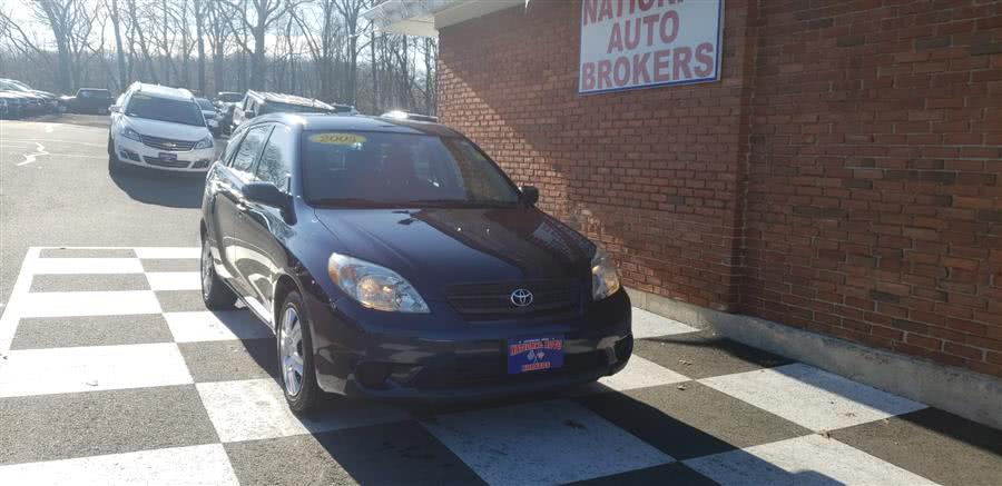 Used Toyota Matrix 5dr Wgn Auto 2005 | National Auto Brokers, Inc.. Waterbury, Connecticut