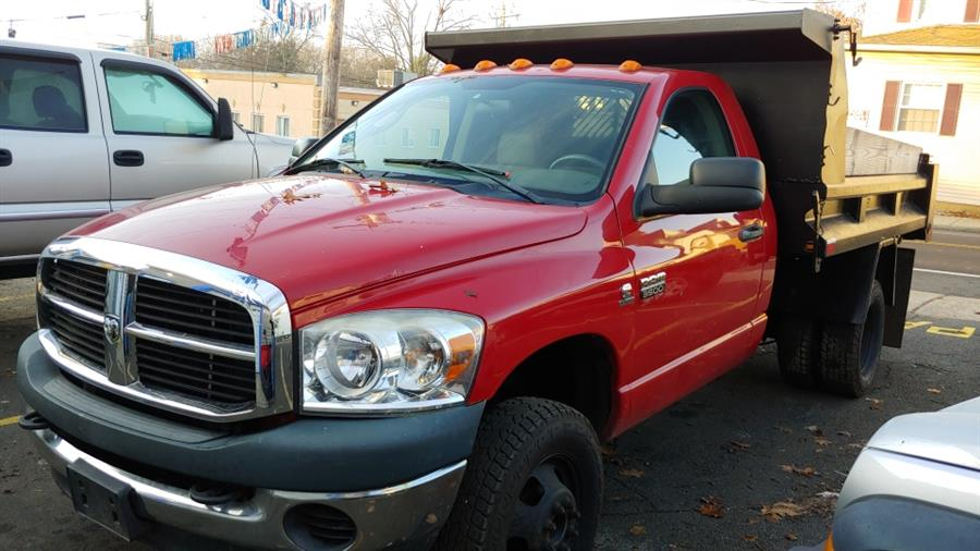 """2008 Dodge Ram 3500 4WD Reg Cab 143.5"""" WB 60"""" CA, available for sale in Ansonia, CT"""