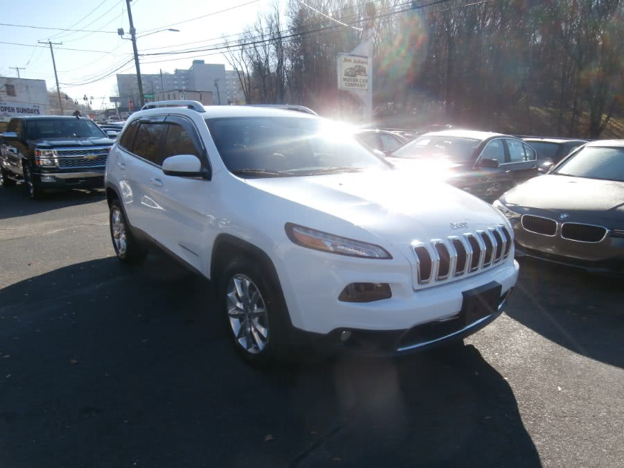 Used Jeep Cherokee 4WD 4dr Limited 2015 | Jim Juliani Motors. Waterbury, Connecticut